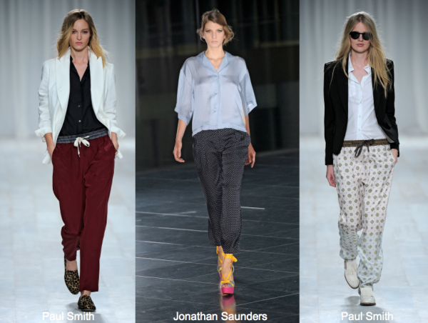 S12 pajama pants paul smith, jonathan saunders