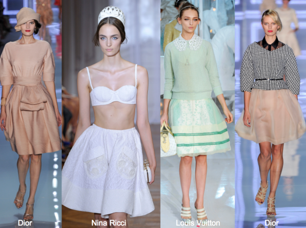 S12 full skirt_dior, nina ricci, louis vuitton