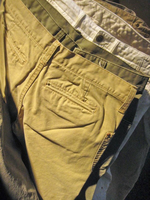 S13 chinos and twill kuroki
