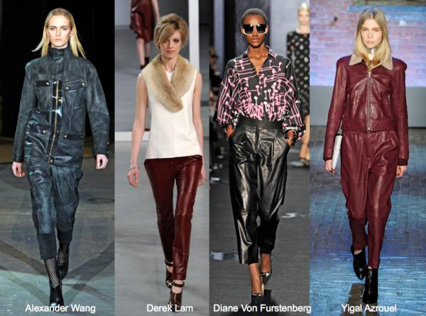 6_F12 leather pants alexander wang, derek lam, diane von furstenberg, yigal azrouel