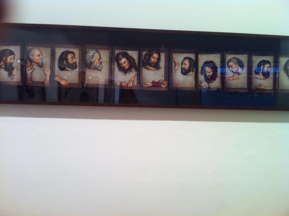 David LaChapelle_Last Supper_Galerie Daniel Templon_Paris4